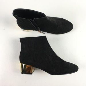 Top Shop Black Bootie T115871